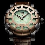 www.watchtime.com | watches wristwatch industry news  | Romain Jeromes Latest Features DNA From the Statue of Liberty | RJ Liberty DNA 150