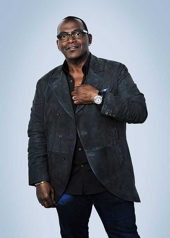 Randy Jackson wearing RT Timepiece