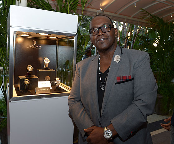 www.watchtime.com | wristwatch industry news lifestyle  | Idol Time: American Idols Randy Jackson Talks Timepieces with WT | Randy Jackson vitrine 560