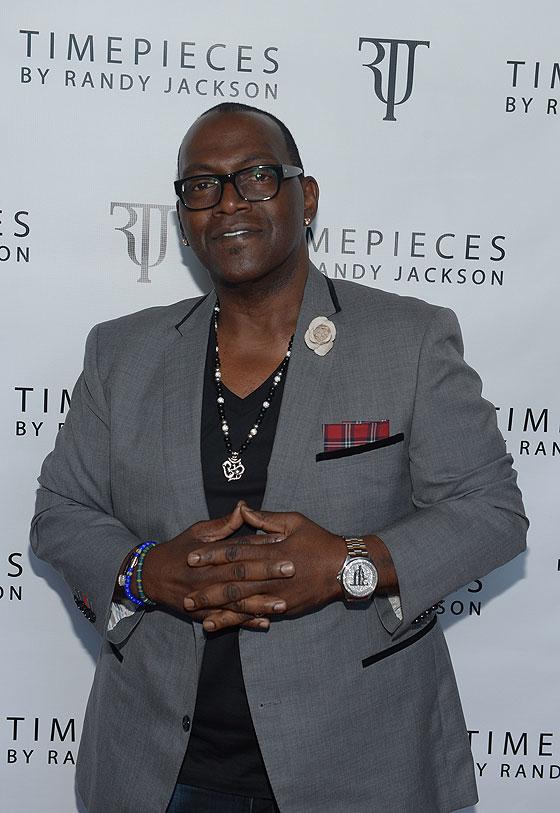 Randy Jackson wearing Timepiece