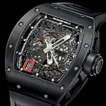 www.watchtime.com | watches wristwatch industry news  | Betting on Black: Richard Mille New RM 030 Limited Editions | RichardMille RM030 BlackOut 150