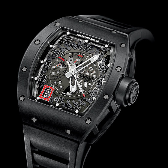 www.watchtime.com | watches wristwatch industry news  | Betting on Black: Richard Mille New RM 030 Limited Editions | RichardMille RM030 BlackOut 560