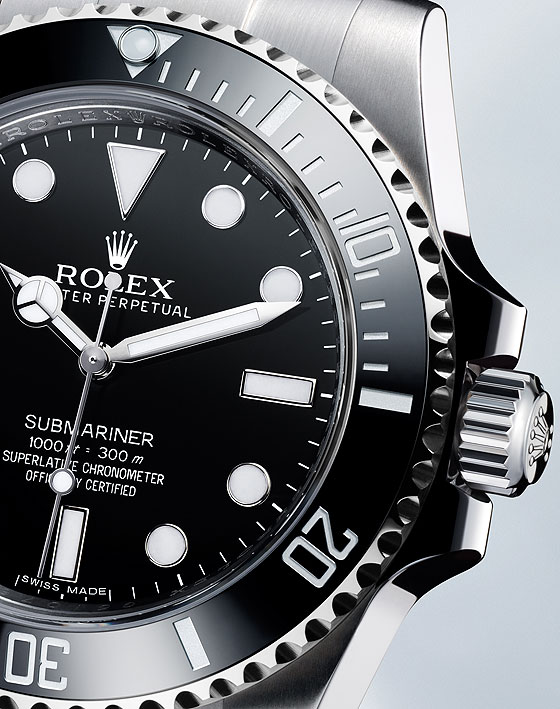 Rolex Oyster Perpetual Submariner 2012 - CU crown