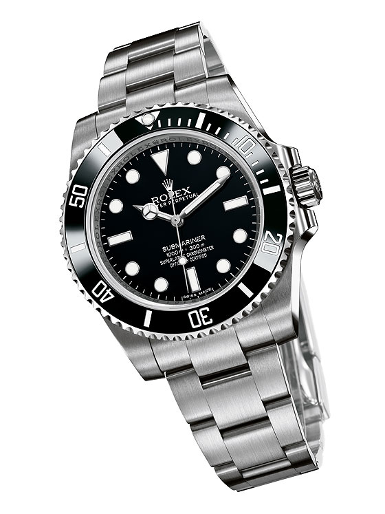 Rolex Oyster Perpetual Submariner 2012 front