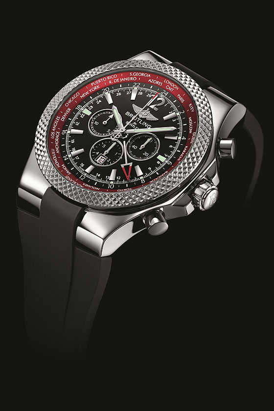 Breitling for Bentley GMT-V8 angle