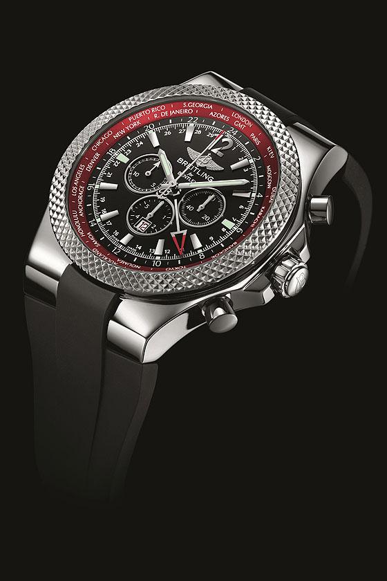 Breitling for Bentley GMT-V8 angle