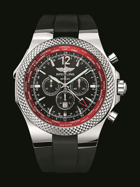 Breitling for Bentley GMT-V8 front
