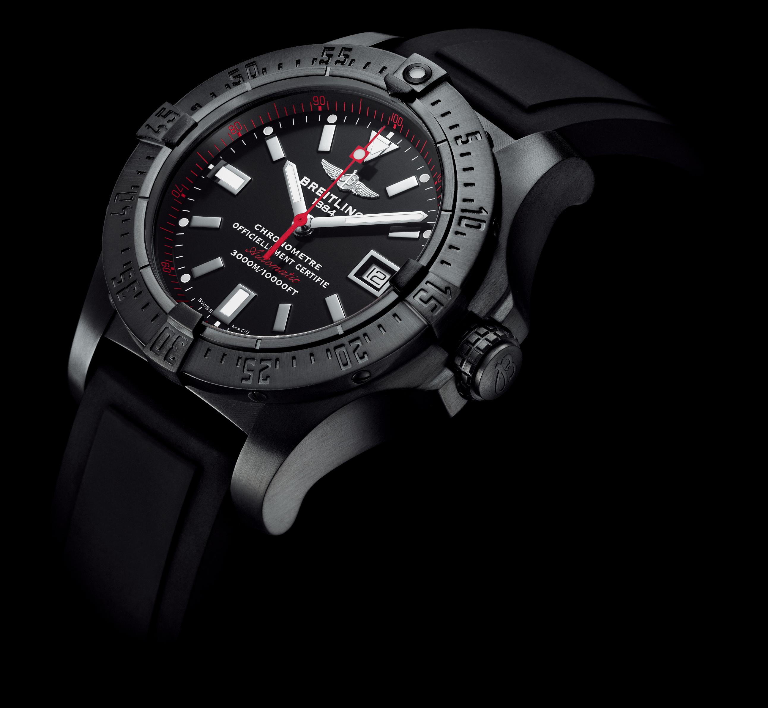 breitling avenger skyland blacksteel limited edition