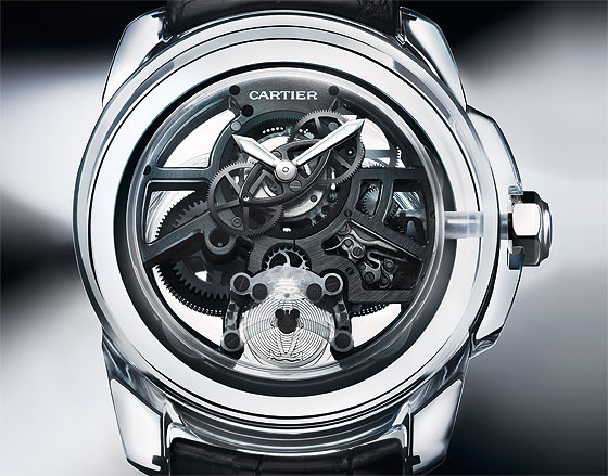 Cartier ID2 concept watch front