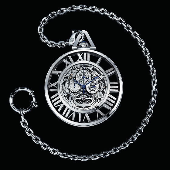 Cartier Grand Complication Skeleton Pocketwatch