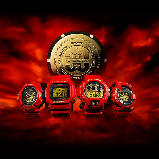 www.watchtime.com | watches wristwatch industry news  | Three Decades of Shocks: Casio Launches 30th Anniversary G Shock Models | Casio G Shock 30th ANNIVERSARY 4 Models 560