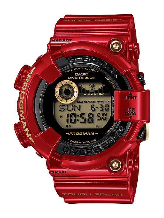 www.watchtime.com | watches wristwatch industry news  | Three Decades of Shocks: Casio Launches 30th Anniversary G Shock Models | G Shock GF 8230A 4 JR DR CR ER 560
