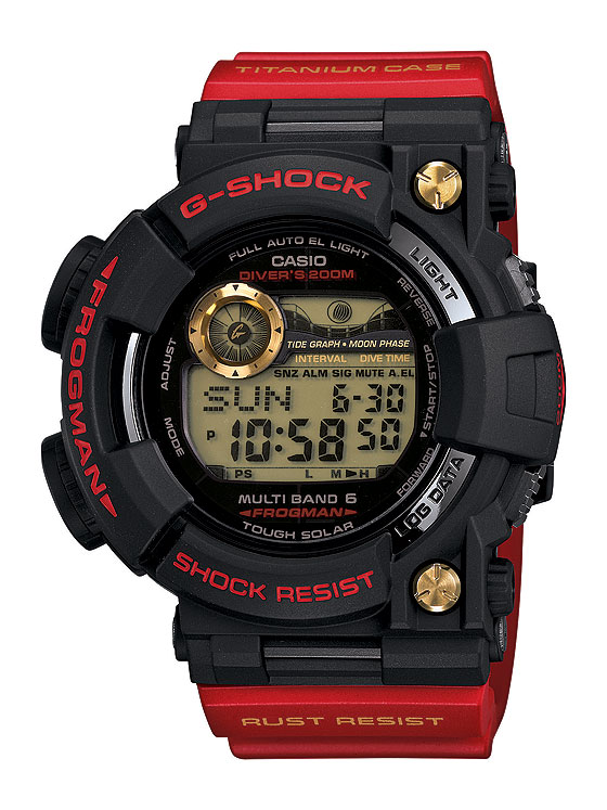 www.watchtime.com | watches wristwatch industry news  | Three Decades of Shocks: Casio Launches 30th Anniversary G Shock Models | G Shock GWF T1030A 1 JR DR 560
