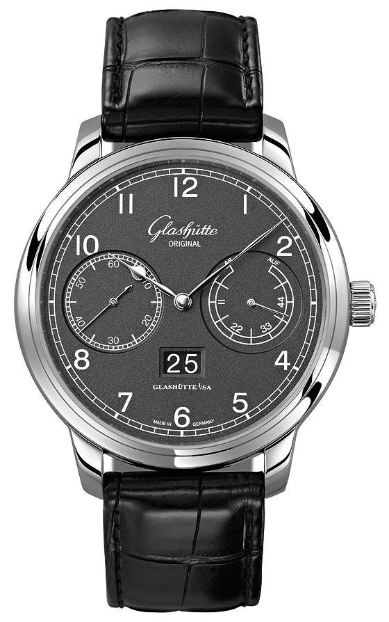 Glashutte Original Senator Observer gray dial