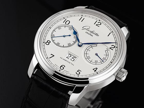 Glashutte Original Senator Observer white dial