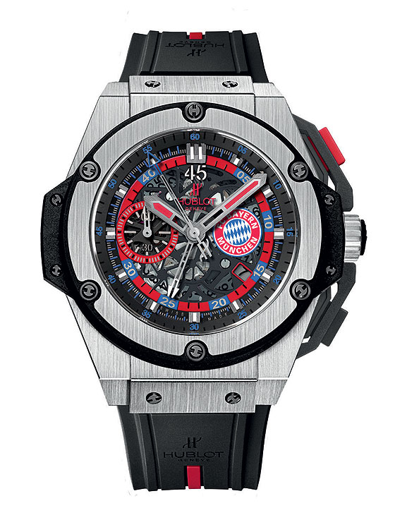 Hublot King Power FC Bayern Munich front