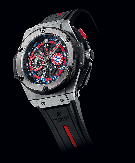 Hublot King Power FC Bayern Munich profile