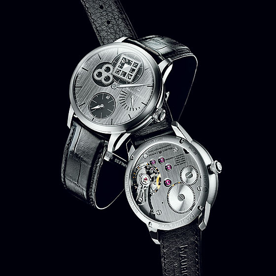 Maurice Lacroix Masterpiece Regulateur Roue Carree