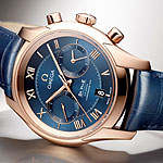 Omega DeVille Chronograph Co-Axial Calibre 9301 - side