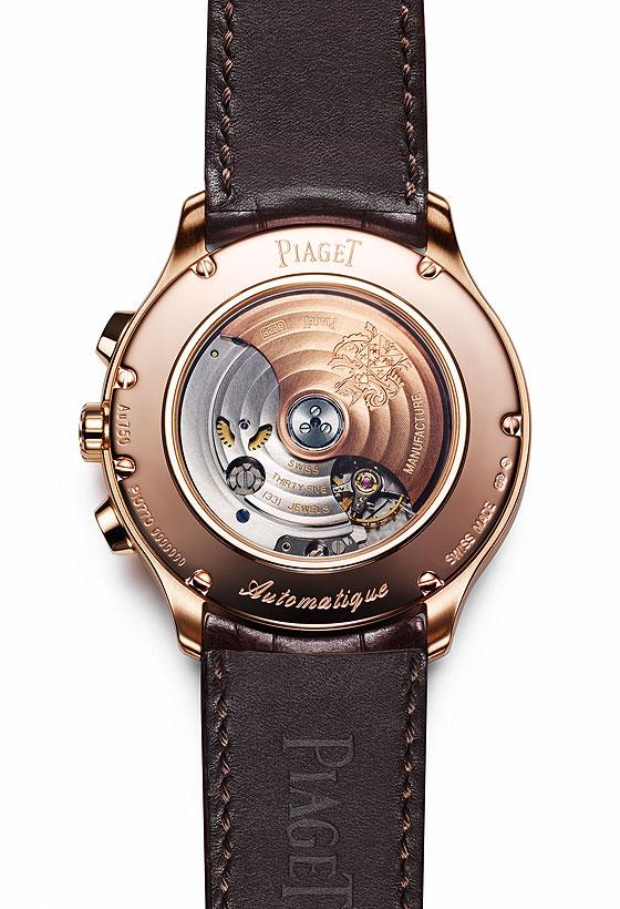 Piaget Gouverneur Chronograph back