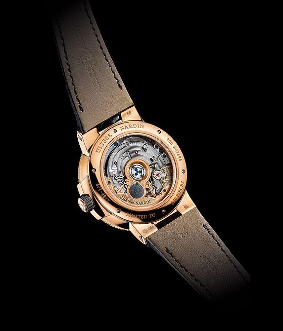 Ulysse Nardin Marine Chronometer Manufacture back