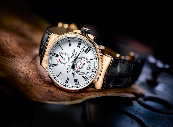 Ulysse Nardin marine Chronometer Manufacture side