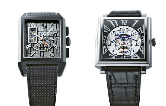 Zenith Grande Port Royal Open & Milus Herios Triretrograde Seconds Skeleton