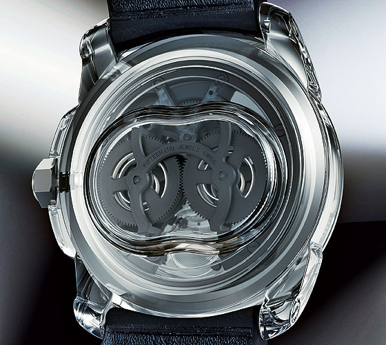 Cartier ID2 concept watch back