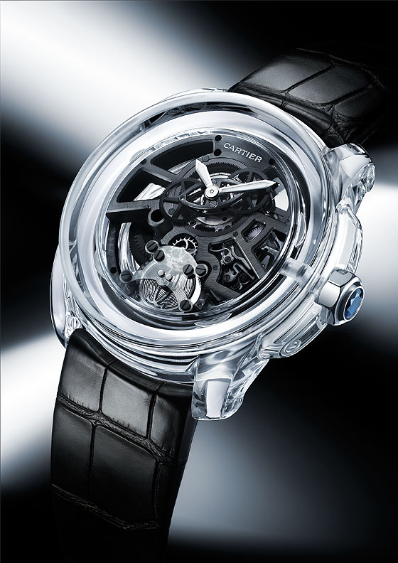 Cartier ID2 concept watch profile