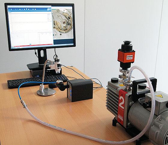 Cartier Vacuum demonstration 1