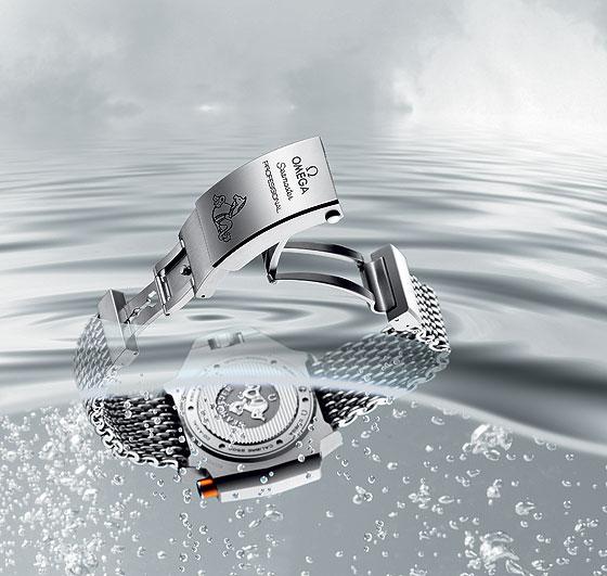 Omega Ploprof bracelet-buckle