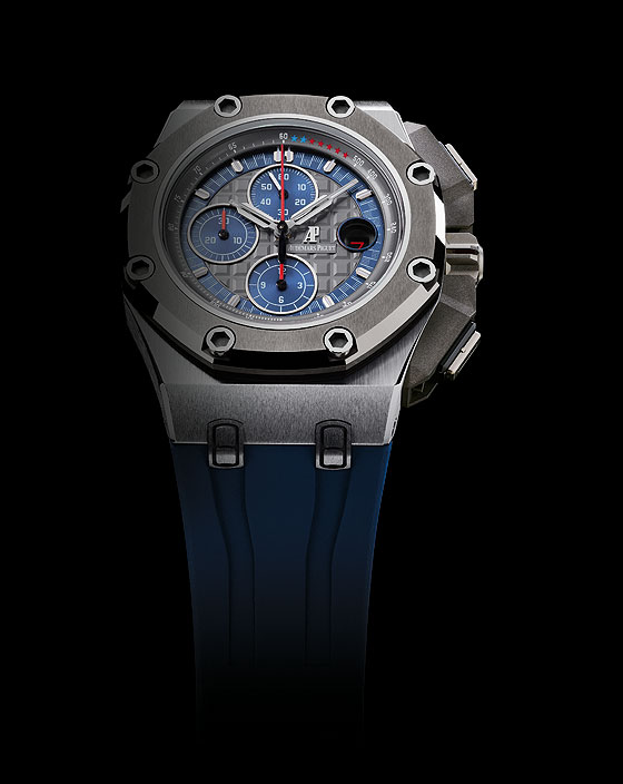 Audemars Piguet Royal Oak Offshore Michael Schumacher platinum front