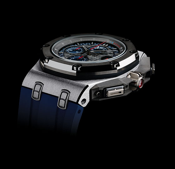 Audemars Piguet Royal Oak Offshore Michael Schumacher platinum side