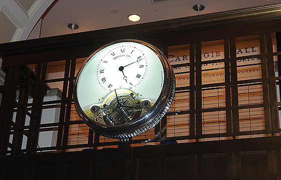 Breguet Clock at Carnegie Hall