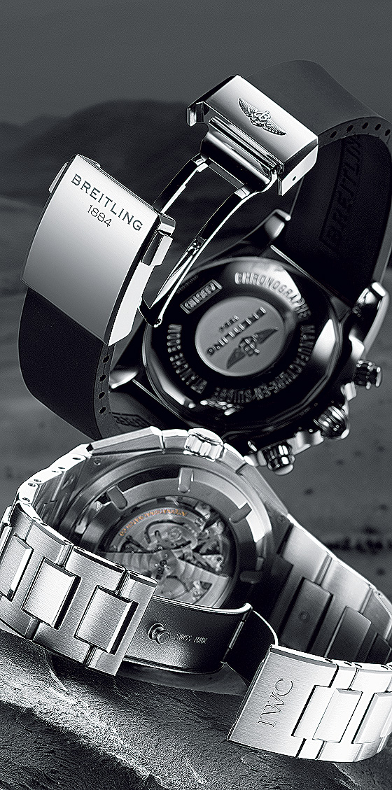 Breitling Chronomat B01 & IWC Big Ingenieur Chrono buckles