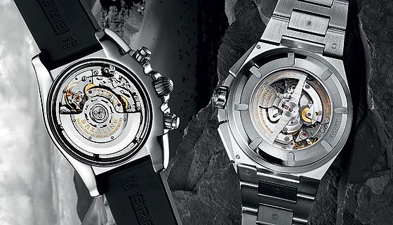 Breitling Chronomat B01 & IWC Big Ingenieur Chrono casebacks