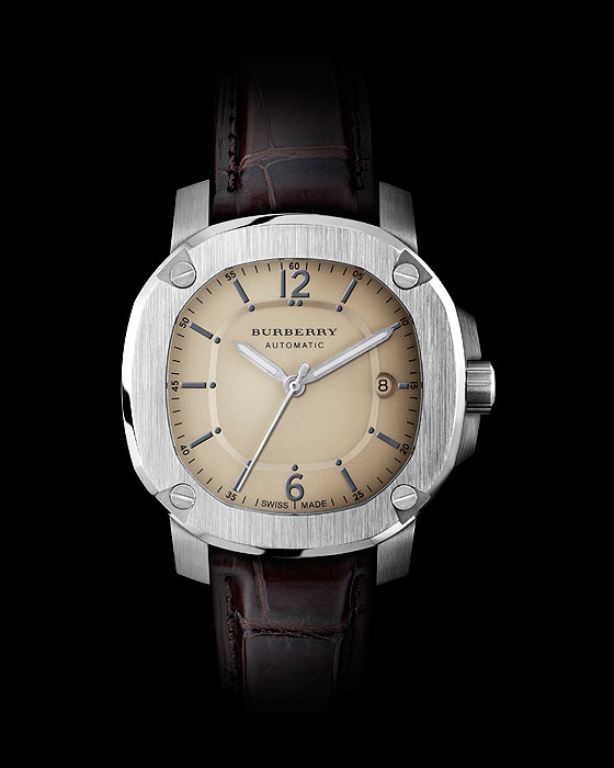 Burberry Automatic leather strap
