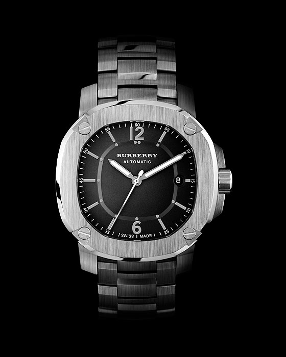 Burberry Britain Automatic steel bracelet