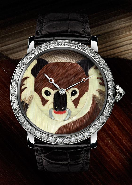 Cartier Rotonde de Cartier koala motif