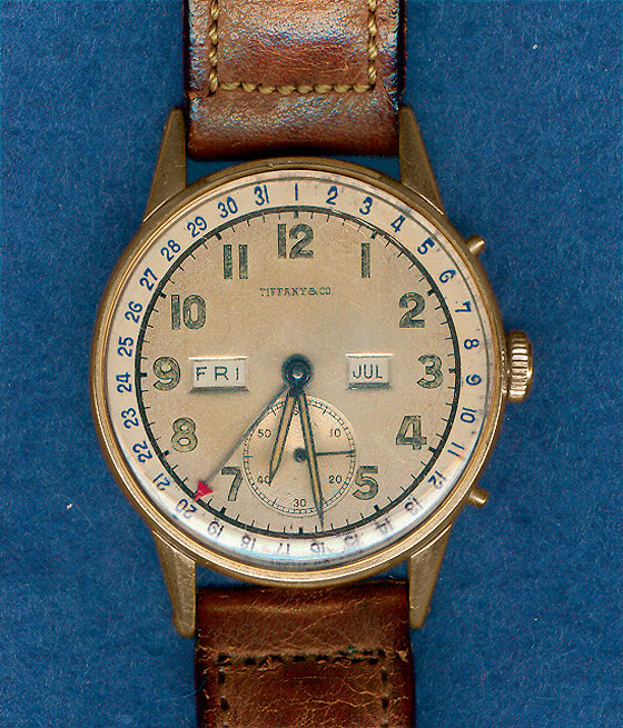 FDR Tiffany Wristwatch