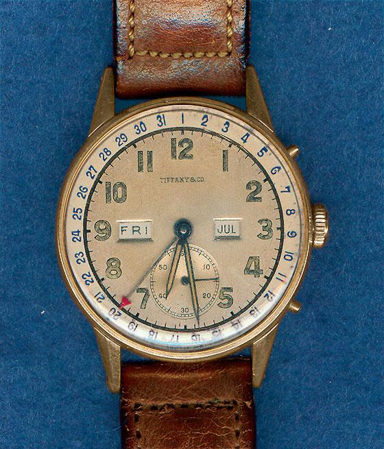 FDR Tiffany Wristwatch