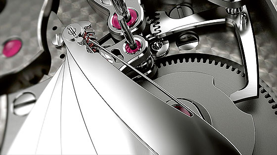 Jaquet Droz Bird Repeater Wing Mechanism