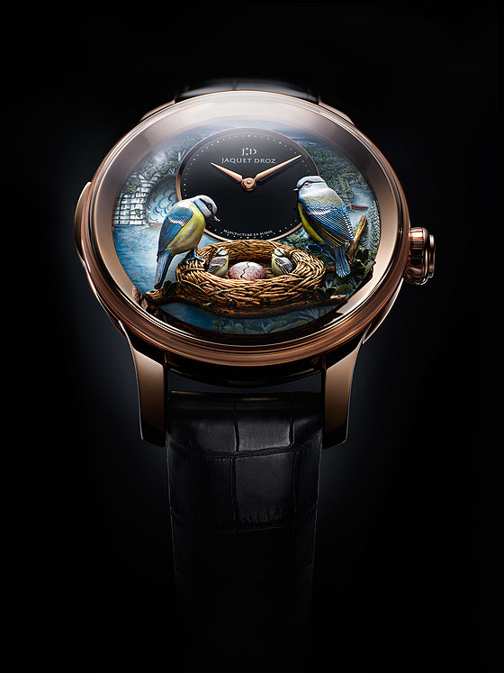 Jaquet Droz Bird Repeater front