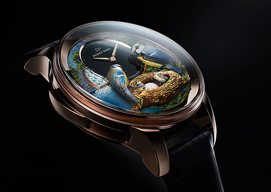 Jaquet Droz Bird Repeater side
