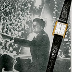 John F. Kennedy with Omega Ultra Thin