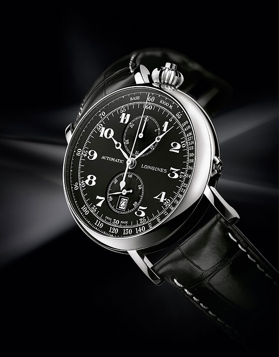 Longines Avigation Watch Type A-7 angle