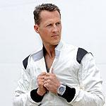Michael Schumacher wearing Audemars Piguet Roya Oak Offshore