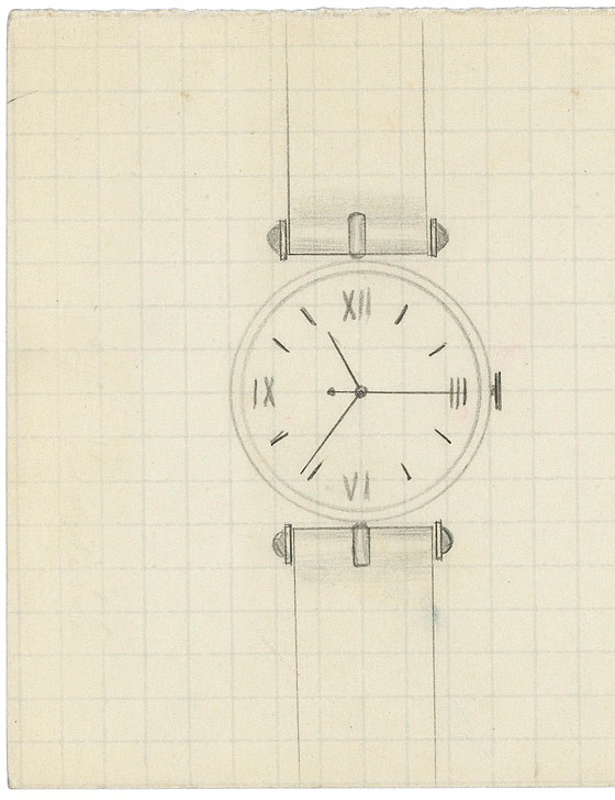 Pierre Arpels PA 49 sketch
