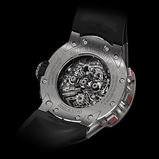 Richard Mille RM039 Aviation BACK