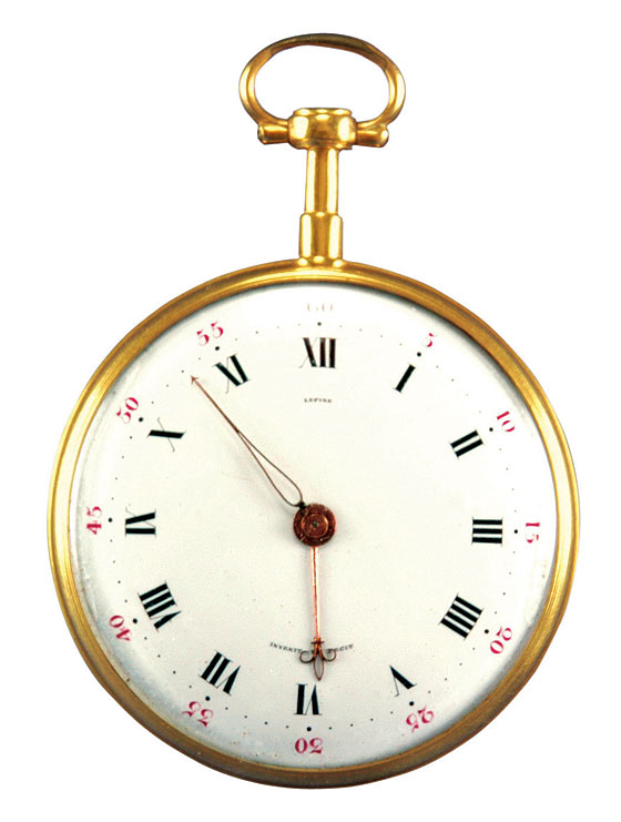 George Washington's Lepine pocketwatch